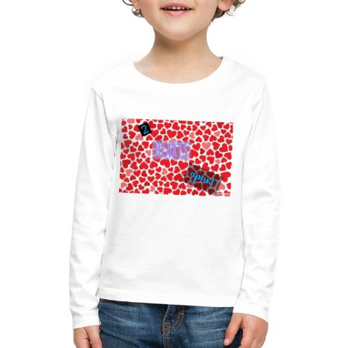 2 hearts apart - Kids' Premium Long Sleeve T-Shirt
