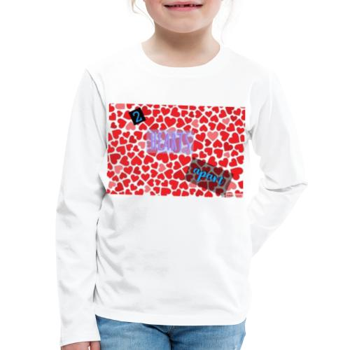 2 hearts apart - Kids' Premium Long Sleeve T-Shirt