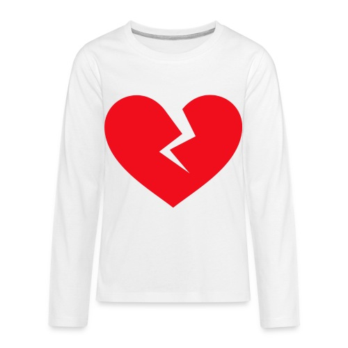 Broken Heart - Kids' Premium Long Sleeve T-Shirt