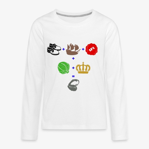 walrus and the carpenter - Kids' Premium Long Sleeve T-Shirt