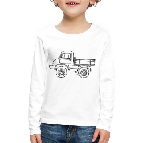 Off-road truck, transporter - Kids' Premium Long Sleeve T-Shirt