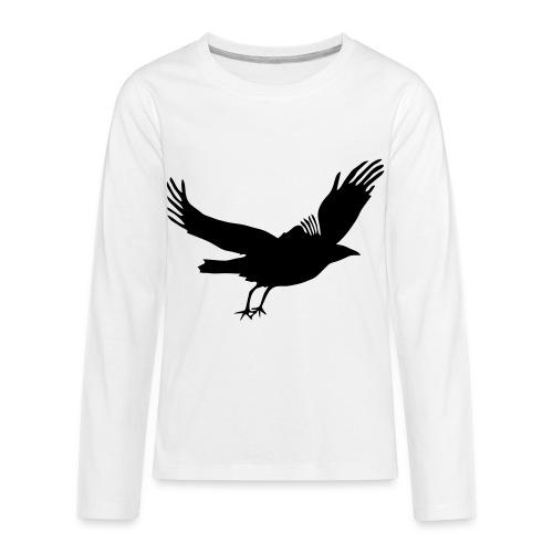 Crow - Kids' Premium Long Sleeve T-Shirt