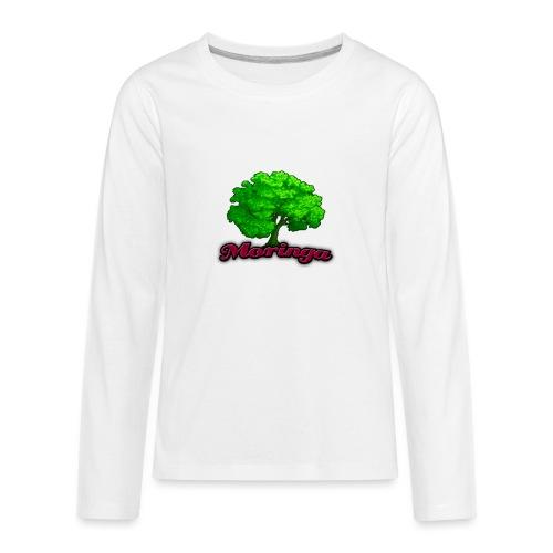 Moringa Logo Samsung S6 Case - Kids' Premium Long Sleeve T-Shirt