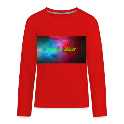 NYAH AND JAZZY - Kids' Premium Long Sleeve T-Shirt