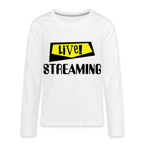 Live Streaming - Kids' Premium Long Sleeve T-Shirt