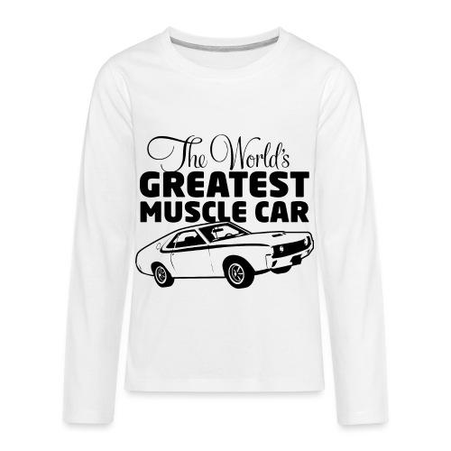 Greatest Muscle Car - Javelin - Kids' Premium Long Sleeve T-Shirt