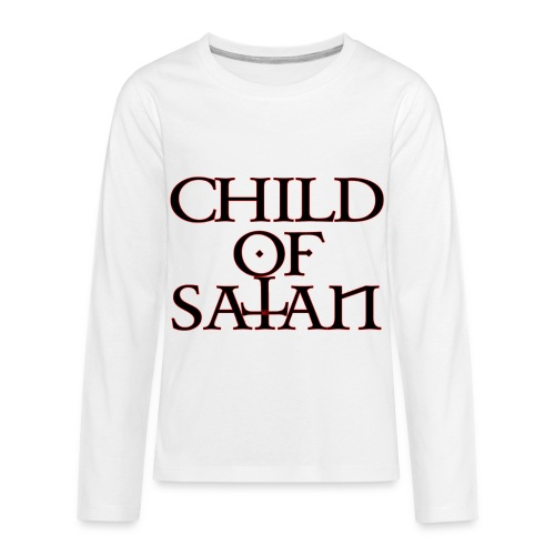 Child Of Satan - Kids' Premium Long Sleeve T-Shirt