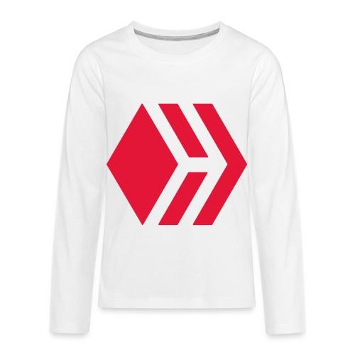 Hive logo - Kids' Premium Long Sleeve T-Shirt