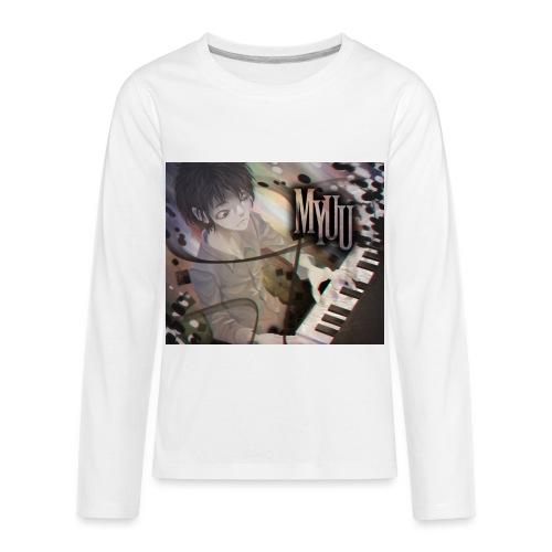 Dark Piano 1 - Kids' Premium Long Sleeve T-Shirt
