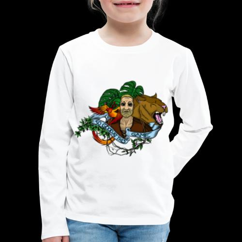 xB ARK (Tattoo Style) - Kids' Premium Long Sleeve T-Shirt
