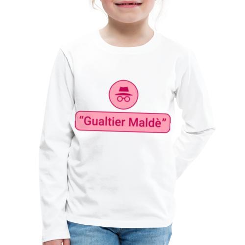 Rigoletto: Duca Incognito (duotone) - Kids' Premium Long Sleeve T-Shirt