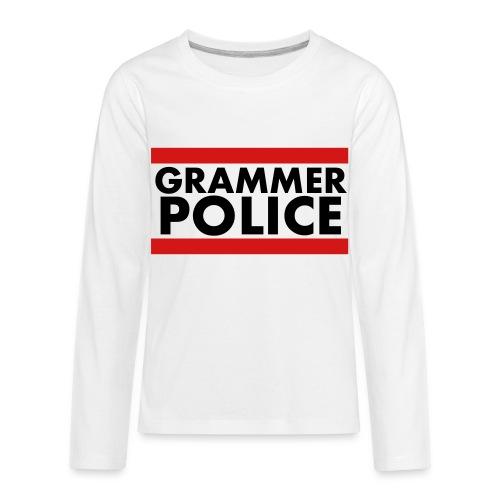 Grammer Police - Kids' Premium Long Sleeve T-Shirt