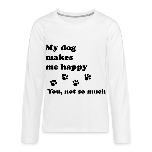 love dog 2 - Kids' Premium Long Sleeve T-Shirt