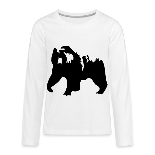 Grizzly bear - Kids' Premium Long Sleeve T-Shirt