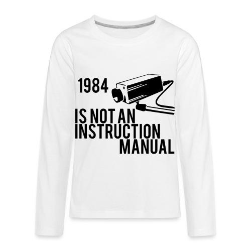 1984 - Kids' Premium Long Sleeve T-Shirt