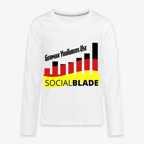 German YouTubers - Kids' Premium Long Sleeve T-Shirt