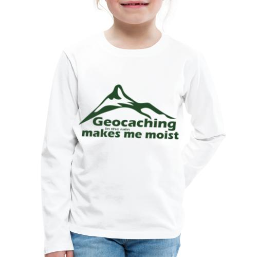 Geocaching in the Rain - Kids' Premium Long Sleeve T-Shirt