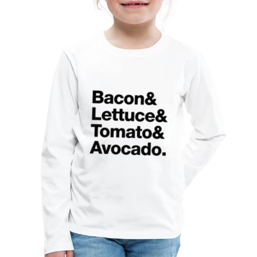 BLTA - Kids' Premium Long Sleeve T-Shirt