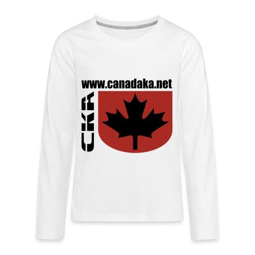 CKA Back 2 - Kids' Premium Long Sleeve T-Shirt