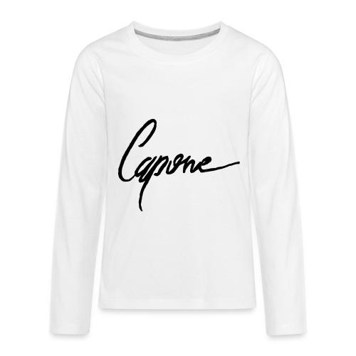 Capone - Kids' Premium Long Sleeve T-Shirt