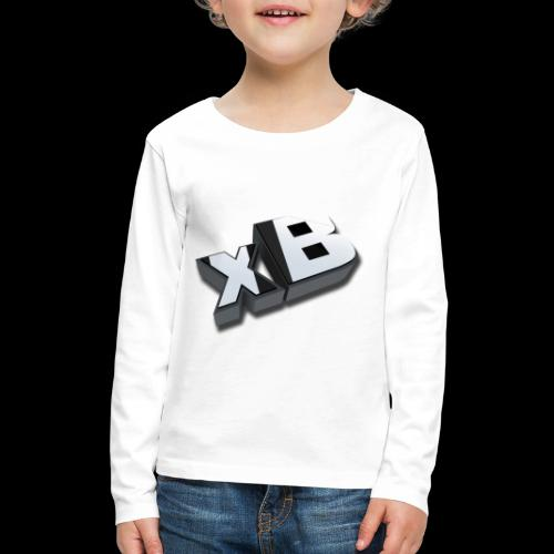 xB Logo - Kids' Premium Long Sleeve T-Shirt