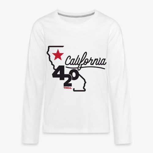 California 420 - Kids' Premium Long Sleeve T-Shirt