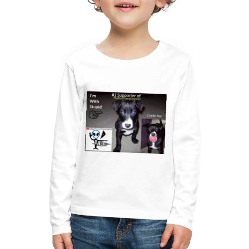 OTchanCharlieRoo with Crew Back Logo - Kids' Premium Long Sleeve T-Shirt