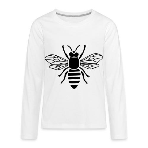 bee i love honey bumble bee honeycomb beekeeper wa - Kids' Premium Long Sleeve T-Shirt