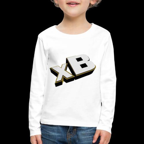 xB Logo (Gold) - Kids' Premium Long Sleeve T-Shirt
