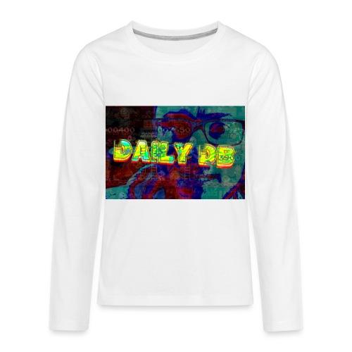 daily db poster - Kids' Premium Long Sleeve T-Shirt