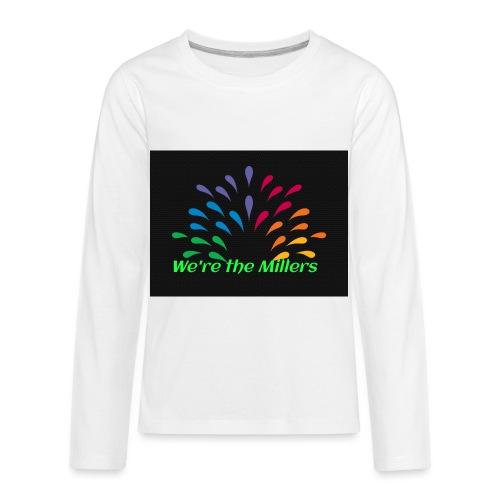 We're the Millers logo 1 - Kids' Premium Long Sleeve T-Shirt