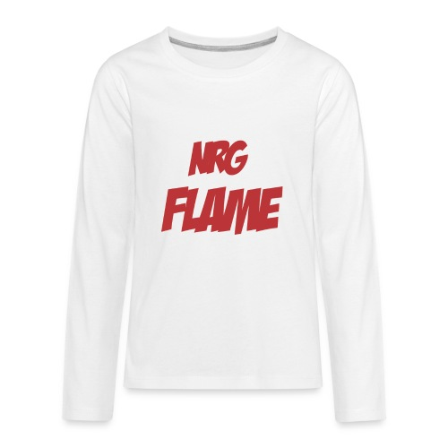 FLAME - Kids' Premium Long Sleeve T-Shirt