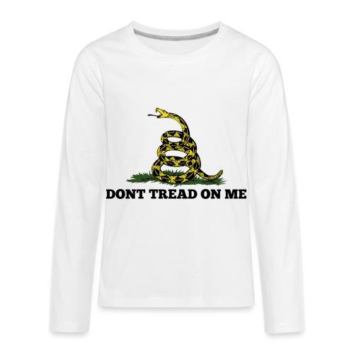 GADSDEN DONT TREAD ON ME - Kids' Premium Long Sleeve T-Shirt