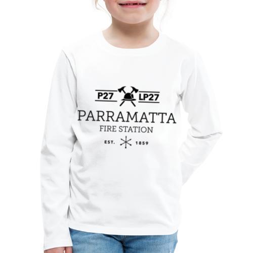 Parramatta Fire Station B - Kids' Premium Long Sleeve T-Shirt