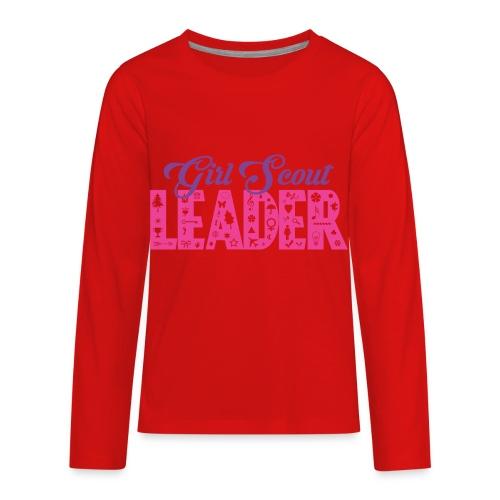 Girl Scout Leader - Kids' Premium Long Sleeve T-Shirt