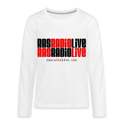 rasradiolive png - Kids' Premium Long Sleeve T-Shirt