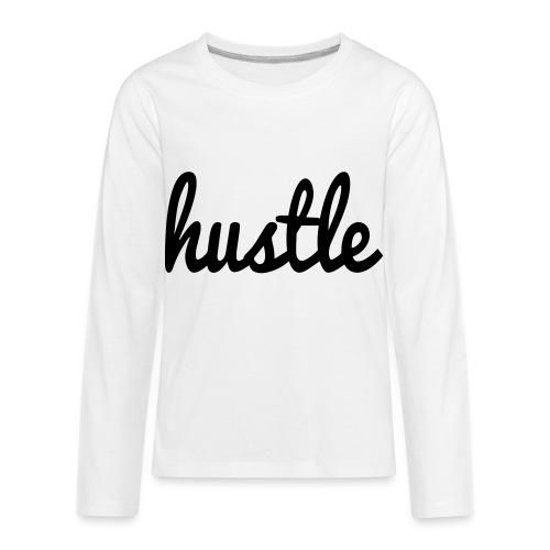 hustle vector - Kids' Premium Long Sleeve T-Shirt