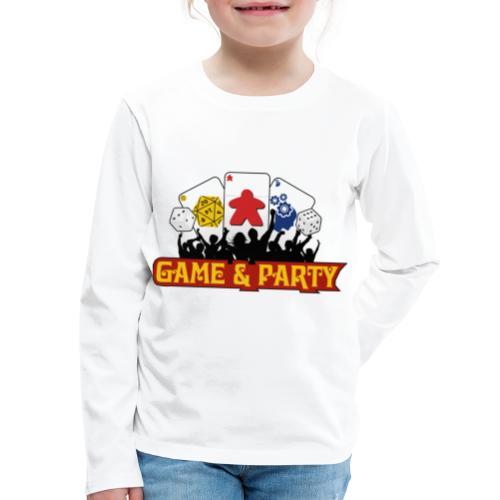 Logo - Kids' Premium Long Sleeve T-Shirt