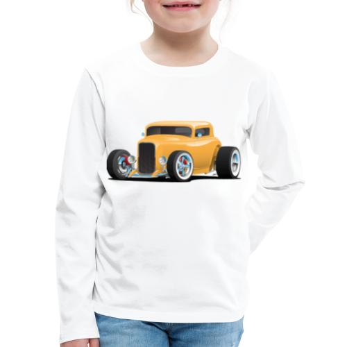 Classic American 32 Hotrod Car Illustration - Kids' Premium Long Sleeve T-Shirt