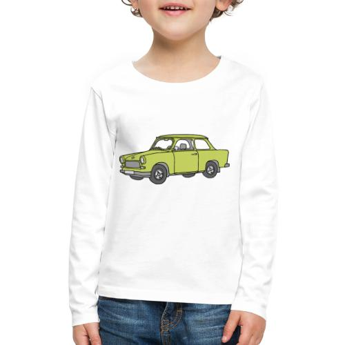 Trabant (baligreen car) - Kids' Premium Long Sleeve T-Shirt