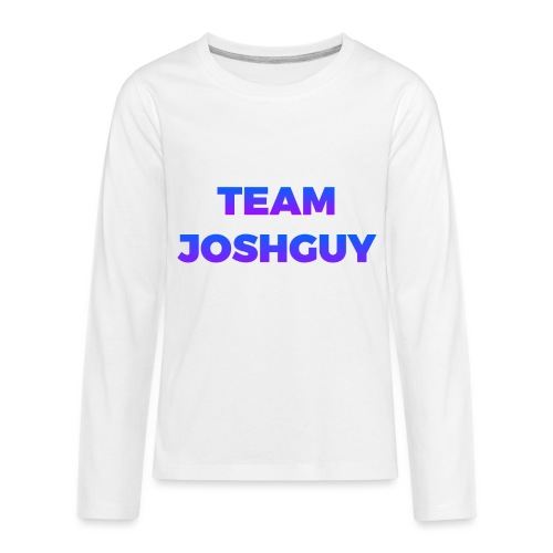 Team JoshGuy - Kids' Premium Long Sleeve T-Shirt