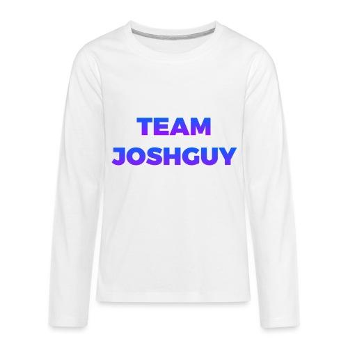 Team JoshGuy - Kids' Premium Long Sleeve T-Shirt