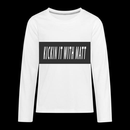 Fire - Kids' Premium Long Sleeve T-Shirt