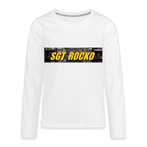 RockoWear Banner - Kids' Premium Long Sleeve T-Shirt