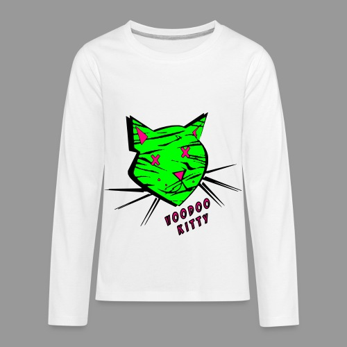 Voodoo Kitty - Kids' Premium Long Sleeve T-Shirt