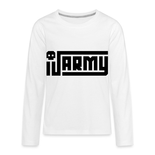 iJustine - iJ Army Logo - Kids' Premium Long Sleeve T-Shirt