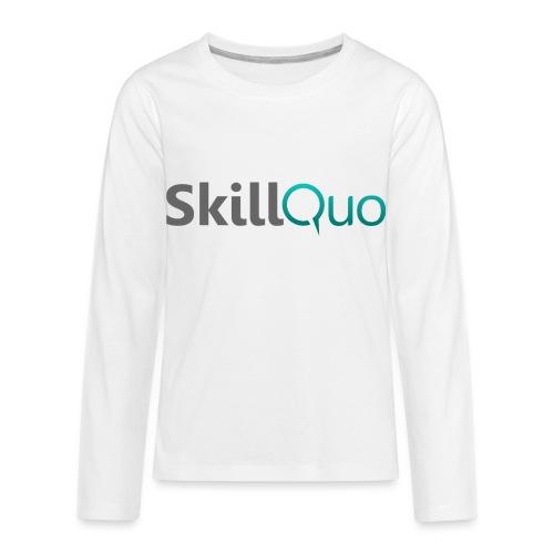 SkillQuo - Kids' Premium Long Sleeve T-Shirt