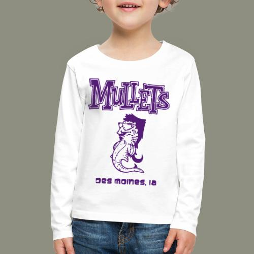 Mullets Color Series - Kids' Premium Long Sleeve T-Shirt