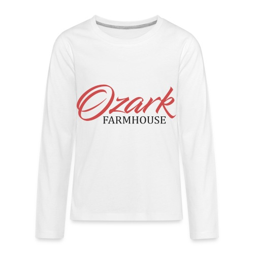 Ozark Farm House - Kids' Premium Long Sleeve T-Shirt