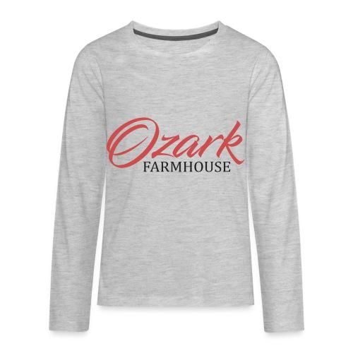 Ozark Farm House - Kids' Premium Long Sleeve T-Shirt